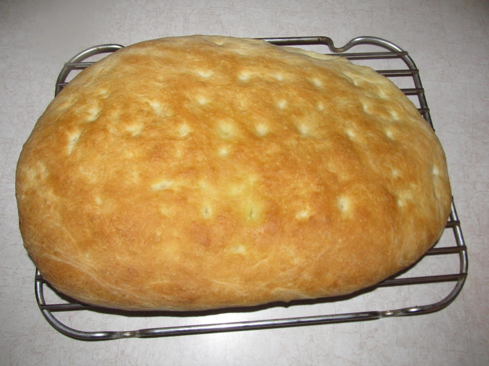 Basic Focaccia - Cooking Adventures
