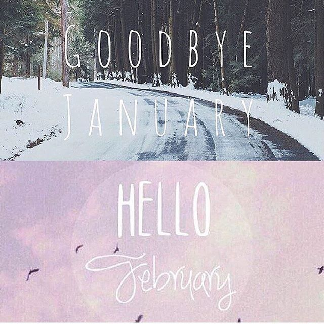 Good bye January/Hello February – Cooking Adventures